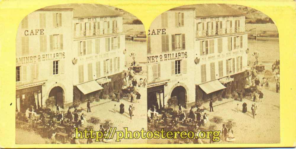 Saint-Cloud - « Vue instantanée de la fête de Saint Cloud. N° 84. Place d'armes». Par Jouvin.    {%[Indexation sur stereotheque.fr]https://www.stereotheque.fr/result,13419-0%} (Saint-Cloud - Fun fair. Parade ground)