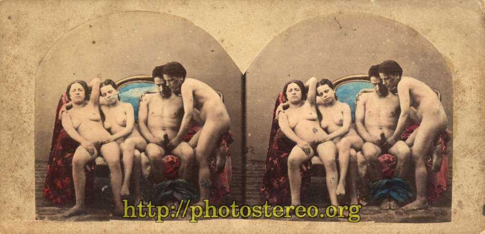 Stereo view nudes
